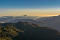 Sunrise from Ben Ledi.