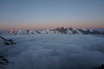 Inversion at dawn