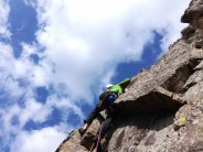 Rich starting up pitch 3 of Haste Not, White Ghyll