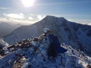 My Munro round route Nevis & Carn More Dearg