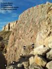 Fallen slab route Topo