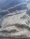 Gap Left by Rockfall