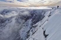 First snows on Braeriach
