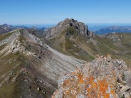Magerrain from the summit of Spitzmeilen to the south-east
