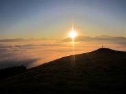 Sunset Latrigg .. Lake District
