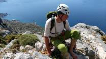 Top of wild country, Kalymnos