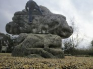 Into The Clouds, The Magic Mushroom Boulder (A), Fairlop Waters Boulder Park