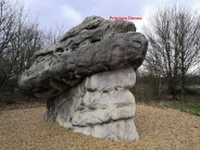 Primiura Donna, The Magical Mushroom Boulder (A), Fairlop Boulder Park