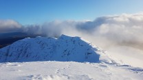 Ben Lomond just after cloud cleared