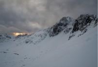 Stob Coire nan Lochan at dawn