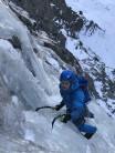 Stallkogelfall ice climbing route