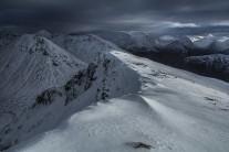 Descending the SE Ridge of Stob Coire Sgreamhach