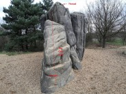 The Orke Slab, Fairlop boulder B, The Prominent Prow / Dinosaur