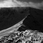 Helvellyn and Swirral Edge from Catstycam