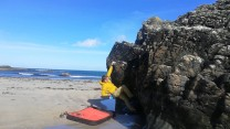 Pool Block Arete, Sanaigmore Beach