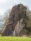 Auchinstarry Promontory Crag