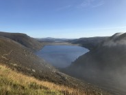 View over Loch Muick from the ascent up Broad Cairn.