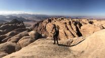 The Summit of Jebel Rum.