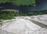 High up on the Monsterwand Slab - Jotun<br>© idmadden