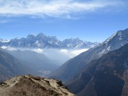 Valley view near Thame, Nepal