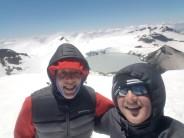 Summit of mount Tahurangi New Zealand