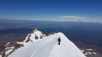 Mount Tahurangi starting Down