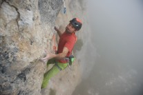 Graham McGrenere on Flor 8b, currently Armenia's hardest route!
