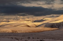 Sundown in the Cairngorms