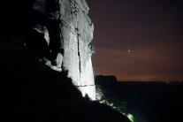 Right Unconquerable night ascent