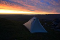 Testing out the new tent on Bynack More