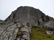 An Caisteal (main crag on Ben Loyal).