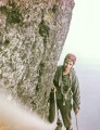 Ken Jackson on The Centaur, Scafell East Buttress. Mid 1964.<br>© Tony Marr