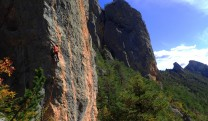 climbing in freissinieres
