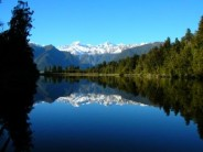 Mount Cook from Lake Mackenzie, NZ