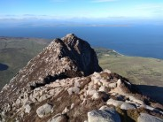 Looking out over the Firth of Clyde from the Arran mountains