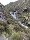 Waterfall half way up Birchen Clough