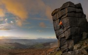 Ben Rouse on The File at Higgar Tor<br>© Ant roberts