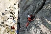 P1, the initial crack