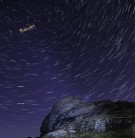 Santa avoiding planes and satellites on his earlier run (Haytor Lowman). he's been 'elf' isolating for 364 da
