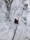 Top pitch of Grammersberg Eisfall (Left Hand)