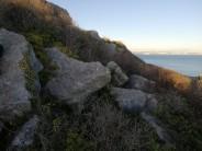 The Barrow boulder, above the Jungle boulder