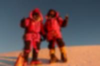 Mingma G and Dawa Tenjin on the summit.