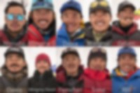 The 2021 Winter K2 first ascensionists.