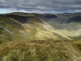 Falcon Craig, Hart Fell, Hart Fell Rigg and Cape Law from Nether Coomb Craig.<br>© GrahamUney
