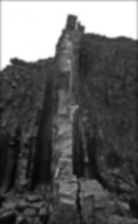 Ian Howell attempting Alpine Groyne, Lower Sharpnose