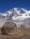 Lhotse from the Honku valley