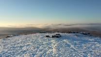 View from Fur tor Dartmoor Winter 2020