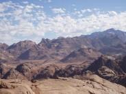 Sinai from top of Jebel Banat