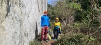 First ascent support team.