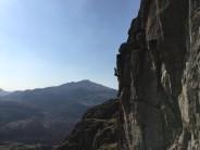 Sunny day on Burnt crag